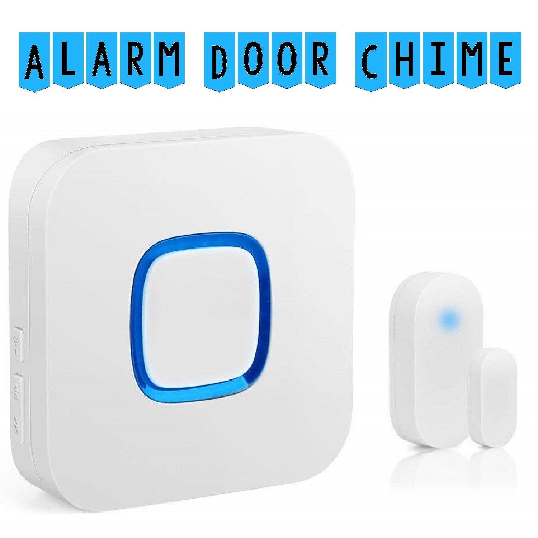 Fosmon Modern Design Wireless Doorbell Set with Unique 52 Ch