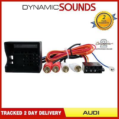 CT20AU07 Stereo Bose Amplified Wiring Harness Adaptor Lead For Audi A3 A4 A6 TT