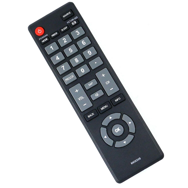 New NH303UD Remote Control for Emerson TV LF401EM5F LF501EM5