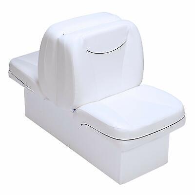Boat Lounge Seat White UV Treated Premium Back To Back Lounger Boating Seats