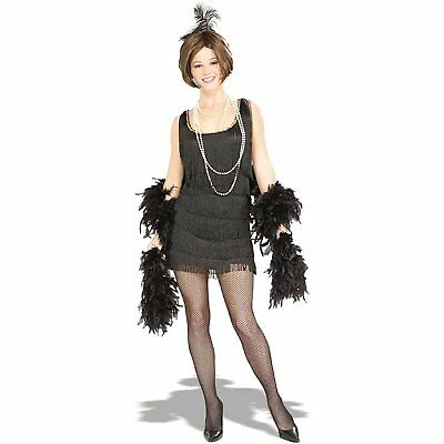 Chicago Halloween Costumes (Chicago Flapper Halloween Costume Adult Womens Roaring 20's & 30's Size Small)