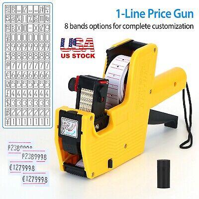 Retail Mx-5500 Price Tag Gun Pricing Labellerlabel Rolls Sticker Spare Ink Shop