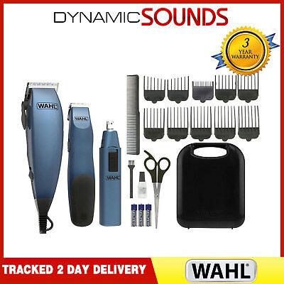 Haircutting Clipper - WAHL Complete Mains Hair Clipper Gift Set Beard Trimmer Hair Cutting Machine Kit