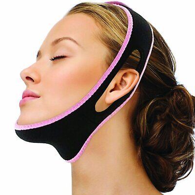 V Line Face Slimming Double Chin Reducer Mask Lifting Belt A