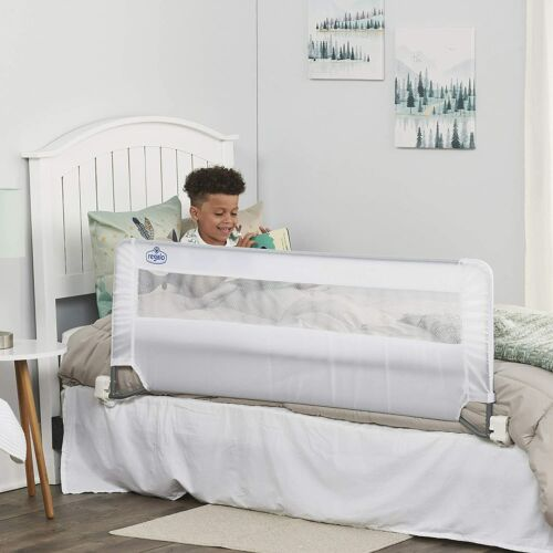 Regalo Swing Down 54 Inch Extra Long Bed Rail Guard Reinforced Anchor System