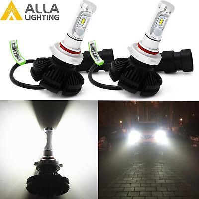Alla Lighting X3 LED 9012 hd-light hi   / lo  Beam Light Bulbs Lamps White Blue