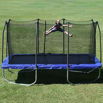 Skywalker Outdoor New Platinum 15' Rectangle Trampoline and Enclosure Large Mat