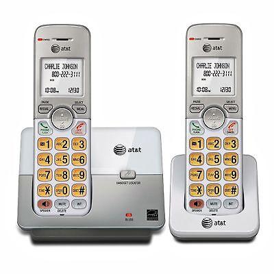 2Set Landline Cordless Telephone Portable Wireless Best Mobile Home Office