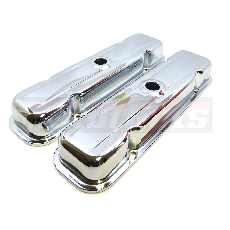 Chrome 5//16 Valve Cover T-Handles fits Pontiac Engines 350 400 455   Set of 8