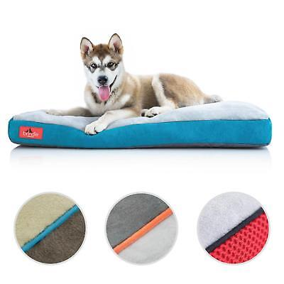 BRINDLE Memory Foam Dog Bed with Removable Washable Cover for Big and Small Dogs