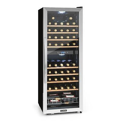Wine Cooler Fridge Refrigerator 54 Bottles Beer Cooling Drinks 148 L LCD display