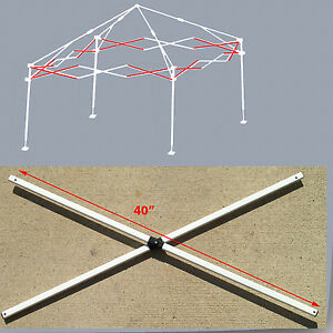E Z Up Envoy 10x10 Instant Canopy Gazebo Side Truss Bars