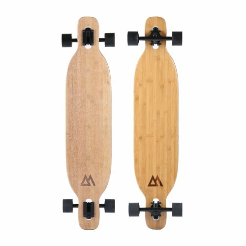 Magneto Longboard - Bamboo & Fiberglass Drop Through Longboard Cruiser