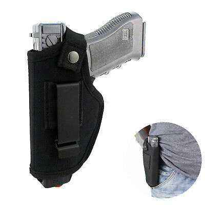 Universal Concealed Gun Holster Carry Holsters Belt Metal Clip IWB OWB Holster