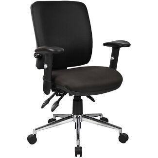 High quality black office , study , computer chair Melbourne CBD Melbourne City Preview