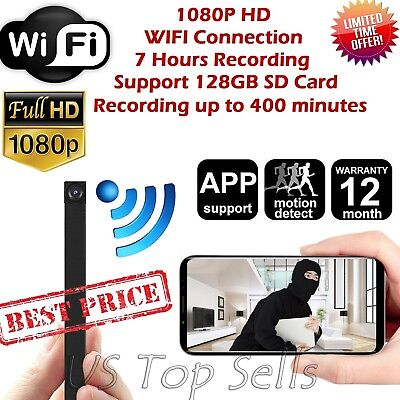 Buy and sell WiFi Mini Hidden Spy Camera Wireless HD 1080P Digital products