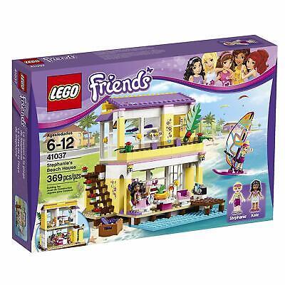 Retired LEGO Friends Set 41037 Stephanie's Beach House New & Factory Seal