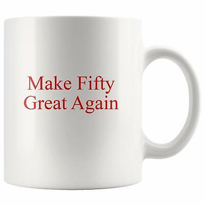 50th Birthday Gag Gift Idea Coffee Mug for Men Women Turning Fifty 50 Bday 1969 - 50th Bday Ideas