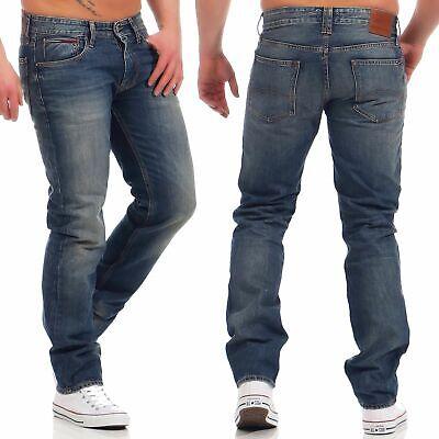 Tommy Hilfiger Denim Ryan Herren Jeans Straight Fit PEB Hose
