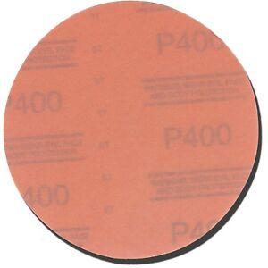 3M 01218 Red Abrasive Hookit Sanding Disc 6 Inch P400 Grit (50 Discs/Box)