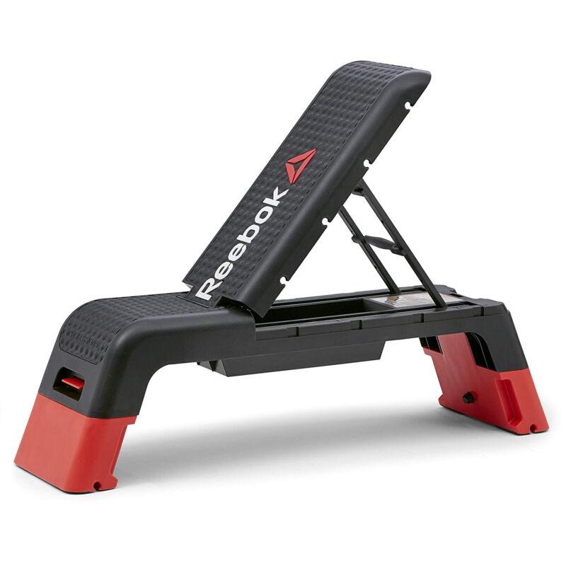 Reebok Professional Multi-Purpose Aerobic Home Fitness Deck, Black (Open Box)
