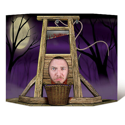 Halloween Photo Booth Props (Halloween Decoration Guillotine Photo Booth Prop 3' 1