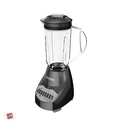 Commercial Smoothie Blender With Glass Jar Food Processor Combo Black Decker (Black And Decker Blender Food Processor Combo)