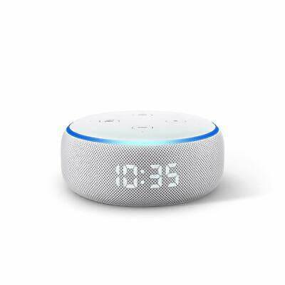 Amazon Echo Dot 3rd Generation Smart Speaker with Clock and Alexa - Sandstone