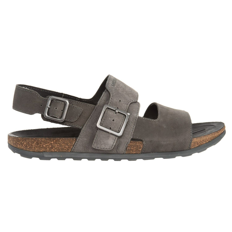 New Men`s Merrell Downtown Backstrap Buckle Sandals J93953 1