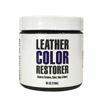 Leather Color Restorer Repair Kit W/ Applicator- Renew Dye- Leather Hero 4oz