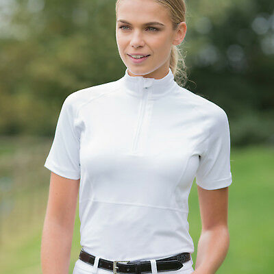 Ladies Horse Riding Freedom Competition Shirt - White - Size 16 was £38.50