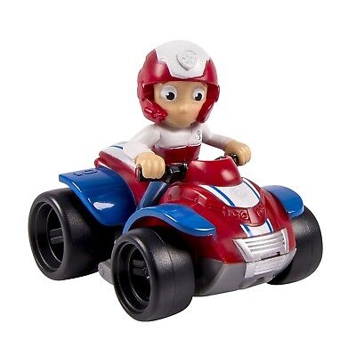 Paw Patrol Racer Ryder Rescue Vehicle Fan Detailed Character And Vehicle Toy