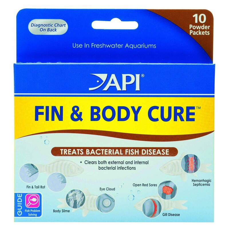 API Fin & Body Cure Powder 10 Packets