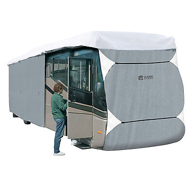 (Class A RV Cover 40' to 42' Zippered Panels Extra Tall)
