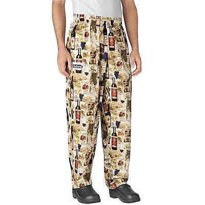 New Chefwear Mens Ultimate 100 Cotton Baggy Chef Pants Vintage Xs-5xl
