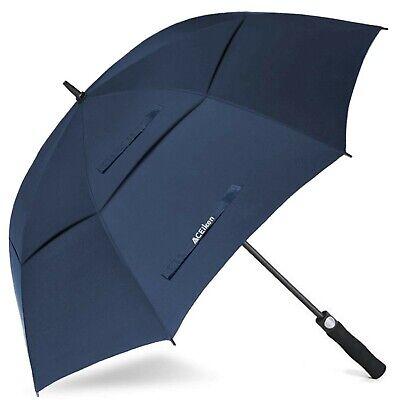 ACEIken Golf Umbrella Large 58/62/68 Inch Automatic Open Golf Umbrella Extra ...