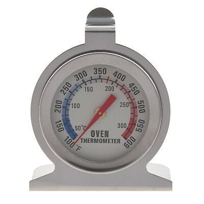 Stainless Steel Oven Thermometer - Hang Or Stand In Oven (Hang Stand)