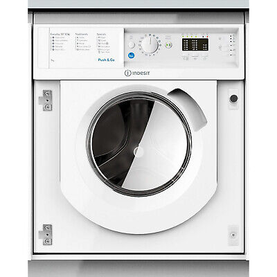 Indesit Integrated BIWMIL71452 7kg Washing Machine 1400RPM A++ - White