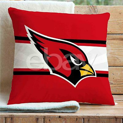 (Arizona Cardinals NFL Custom Pillows Car Sofa Bed Home Decor Cushion Pillow Case)