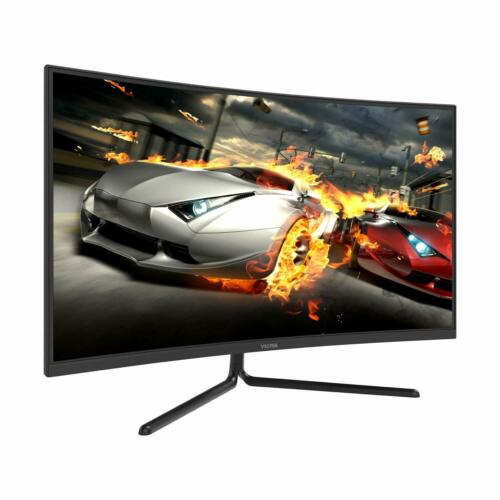 "Viotek NV32Q True 4K Monitor 32"" Curved 3840x2160p Streaming Ready 60Hz FreeSync"