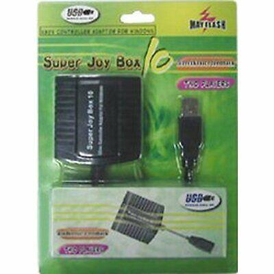 Adaptador 2 Mandos XBOX a PC (SUPER JOY BOX 10)