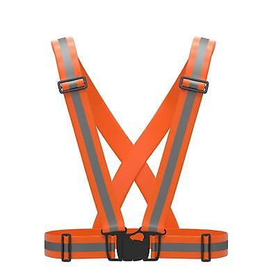 Reflective Gear High Visibility Vest Safety Reflector Bands Running Biking Kids