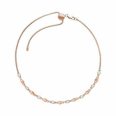 Michael Kors Women's Metallic Chain Necklace MKJ7025791 8807