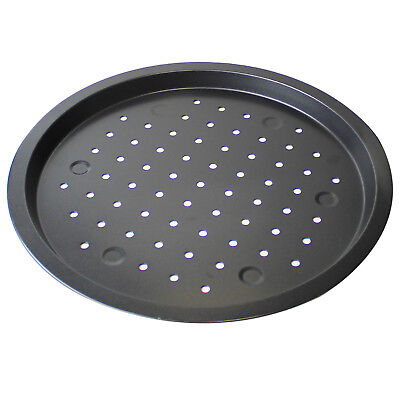 Pizza Crisper Pan Betty Crocker Vented Nonstick Deep Dish Oven Baking Tray Tin Tin Pan Pizza