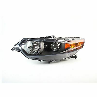 Left Side Replacement Headlight Assembly For Acura TSX 09-14 Sedan / 11-14 Wagon