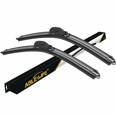 "ABLEWIPE 24""+22"" Fit For BMW 530i 2007-2004 Beam Front Windshield Wiper Blades"
