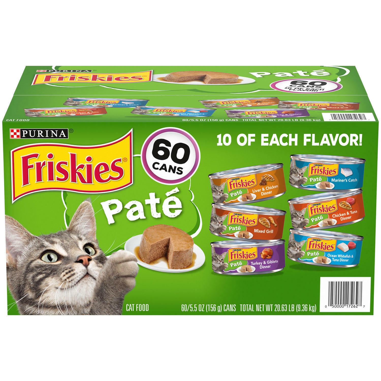 Purina Friskies Pate Wet Cat Food, Variety ...