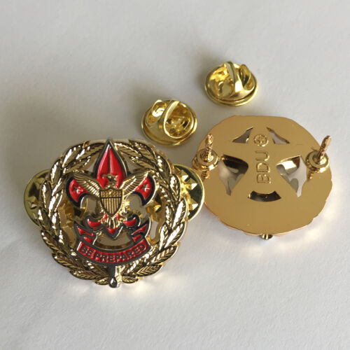 District Executive Service Corps Badge, One Pair (2) (Scout Scouter Boy Cub Pin)