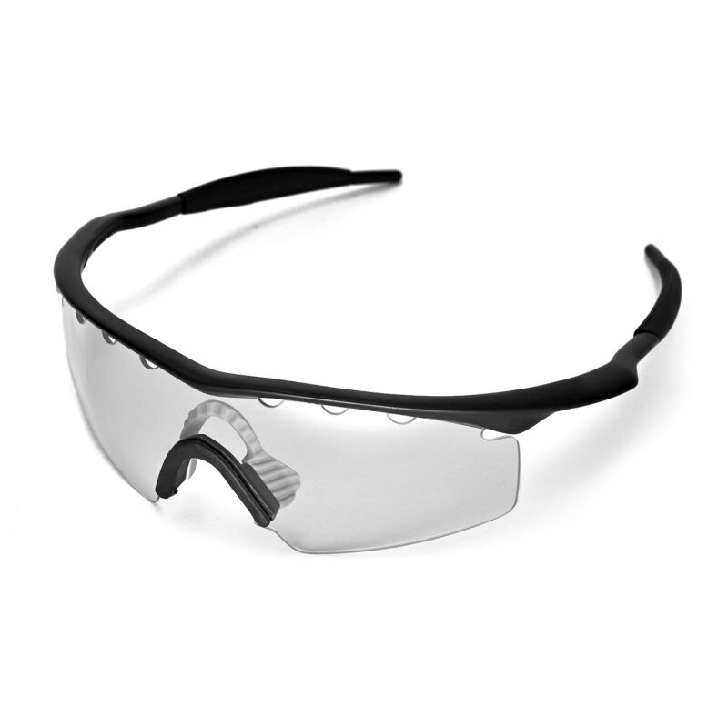 095c7db3b0 ... Walleva Clear Vented Replacement Lenses For Oakley M Frame Strike  Sunglasses ...
