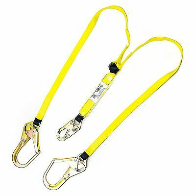 Spidergard 6ft Double Lanyard With Rebar Hooks - Spld201
